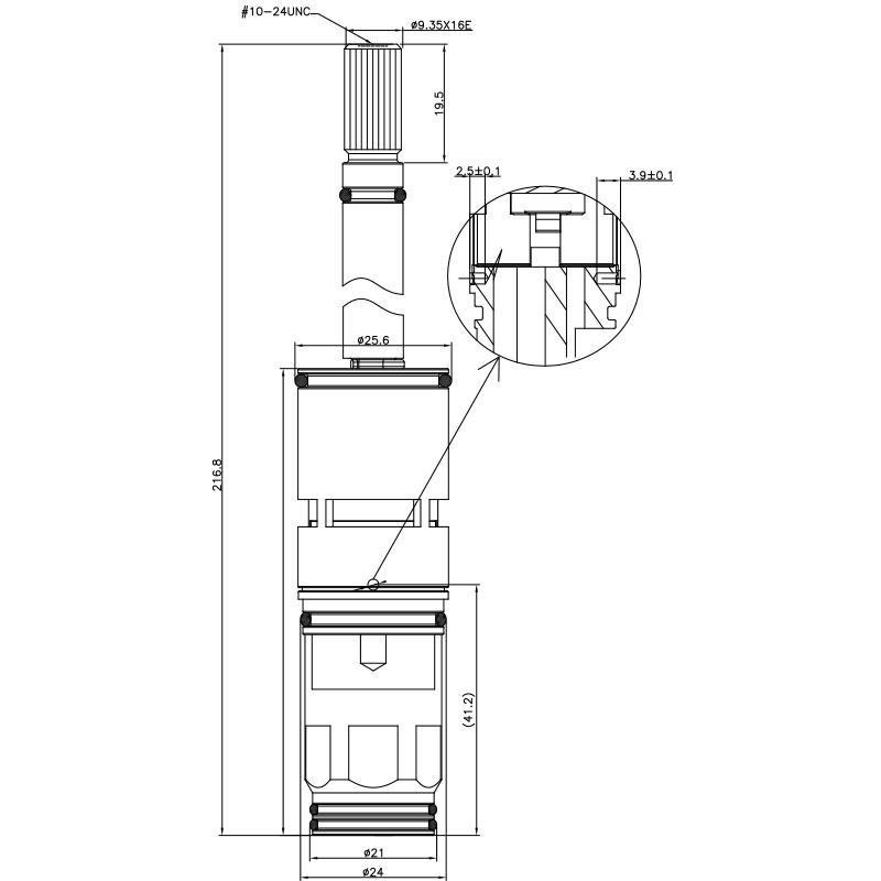 3/4 3/4 인치 2 방법 금관 악기 HHG 유형 16이 599 브로치 유형 24 MM 180도 시계 방향으로 회전시키는 전환기 카트리지