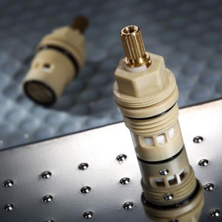1/2 Half Inch Two Handle Faucet Plastic Ceramic Cartridge (12PLFC) - 1/2 Half Inch Two Handle Faucet Plastic Ceramic Cartridge (12PLFC)