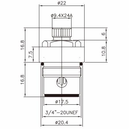 """3/8 3 개의 8 인치 고급 장교 2 손잡이 꼭지 HBB 유형 크롬에 의하여 도금되는 9.4 x 24A이 274 브로치 유형 3/4 """"-20UNEF 90도 시계 방향으로 돌리십시오 가까운 세라믹 카트리지 - 3/8 3 개의 8 인치 고급 장교 2 손잡이 꼭지 HBB 유형 크롬에 의하여 도금되는 9.4 x 24A이 274 브로치 유형 3/4 """"-20UNEF 90도 시계 방향으로 돌리십시오 가까운 세라믹 카트리지"""