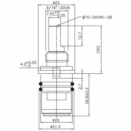 1/2 halber Zoll Messing Zwei-Griff-Wasserhahn HFI-Typ Blei Wasch-Plug-In Typ 479 Broach-Typ ohne Gewinde 21,3 MM 90 Grad im Uhrzeigersinn Drehen Sie die Keramikpatrone - 1/2 halber Zoll Messing Zwei-Griff-Wasserhahn HFI-Typ Blei Wasch-Plug-In Typ 479 Broach-Typ ohne Gewinde 21,3 MM 90 Grad im Uhrzeigersinn Drehen Sie die Keramikpatrone