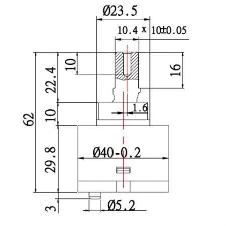 Kartrij Seramik Tuas Tunggal / Pengadun Penjimatan Tenaga 40mm dengan Pangkalan Piawai - Kartrij Seramik Tuas Tunggal / Pengadun Penjimatan Tenaga 40mm dengan Pangkalan Piawai