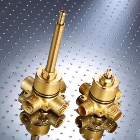 회전식 전환 밸브 (RDVL) - 회전식 전환 밸브