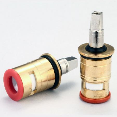 Plug-In / Push-Fit Heavy Duty Two Handle Commercial Ceramic Cartridge