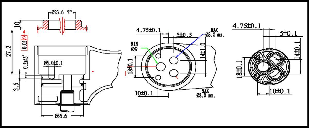 35mm Energy Saving Single Lever / Mixer Ceramic Cartridge