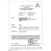 Certificate of Conformity