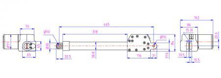 Usualmente se usa en aplicaciones muy específicas en un tipo compacto como vehículos espaciales.
