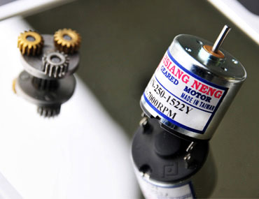 DC Motor - DC Motor, Gearbox