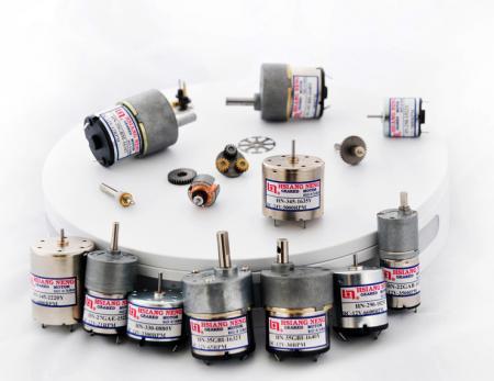 Professional DC Motor Customization - Custom Motor Design for Speed, Torque, Shaft, Gear Reducer, Outer Diameter, HP, Material.
