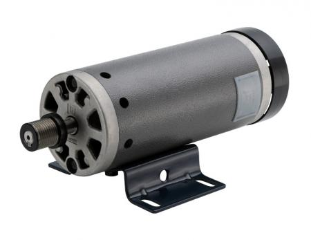 DC 12V ~ 220V Large Motor with 1-3/4HP in 101mm Dia. Treadmill Machine Type - 180v electric motor dc Custom install pulley, flywheel, aluminum cover, gear reducer and encoders.