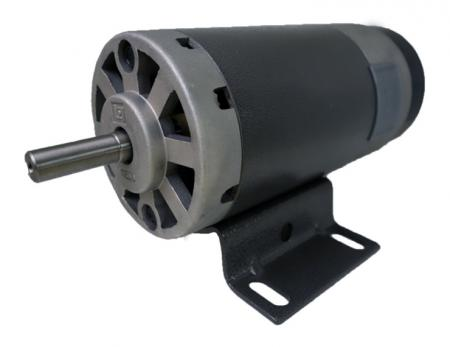 10V ~ 220V High Torque 1.25HP DC Treadmill Motor in Large Size OD 105mm - 2hp DC motor can adjust cover in aluminum or iron or extra flywheel, belt pulley.