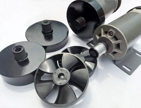 Flywheels for 12V ~ 220V Big Size OD  1.5 HP Treadmill Brushed Motor with 31kg-cm Torque