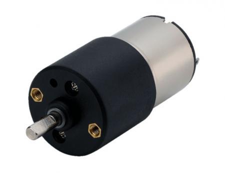 Fabricante de caja de cambios pequeña personalizada en Φ 27 mm con motor de engranajes de 3 - 24 V CC - Motor de corriente continua de alto rendimiento con engranaje en 12V con microreductor tipo engranaje recto de fabricantes de motores de alta velocidad.