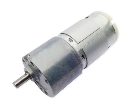 3V - 24V Low-Speed DC Gear Motor, Gearbox OD 30mm Adds DC Motor 28mm Dia.