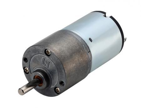 DC Geared Motor in 6V - 24V, Custom Gearbox Φ 30mm Plus Dia. 29mm Motor