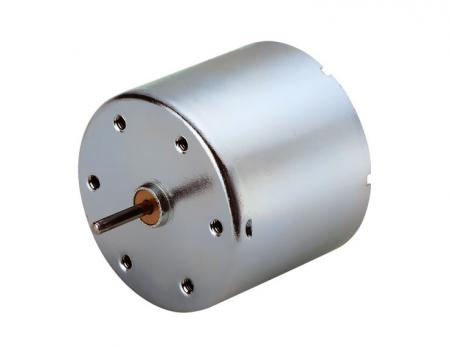 Dia. 34.5mm DC Carbón cepillado 6V - 24V Motor eléctrico DC de altas rpm con imán permanente - Motor de juguete de 12V DC disponible para personalizar el reductor y codificador de velocidad por los fabricantes de motores de alta velocidad.