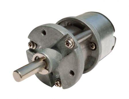 外径35mm 6V - 24V中心轴客制化行星式齿轮慢速电机 - 行星式减速电机客制可依照轴承、中心轴、出力轴与游星齿轮材质来订制台湾精品。