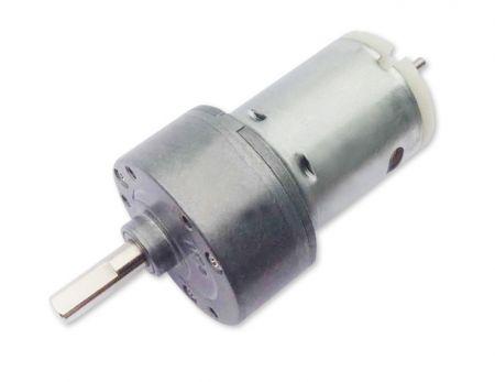 Dia. Φ 35mm 6V - 12V torque 6kg-cm Mini motor de engranajes de CC