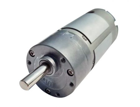 6V - 24V DC Geared Motor 35mm Gearbox Brushed Motor High Torque - Small 24V DC Geared Motors in eccentric shaft type for Printer and Slot Machine.