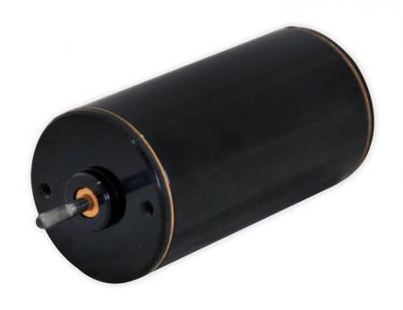 Micro motor de alta velocidad de 6 V - 24 V CC en 38 mm de diámetro exterior Gran ahorro de energía - Motor de eje central de 24 v CC con codificador adicional bidireccional, reductor de engranajes.