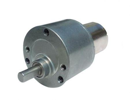 Motorreductor DC de bajo ruido 6V - 24V con GearBox 34.5mm OD - Reductor de velocidad recto y reductor de engranajes personalizados del fabricante OEM de motores de CC de 48 voltios.