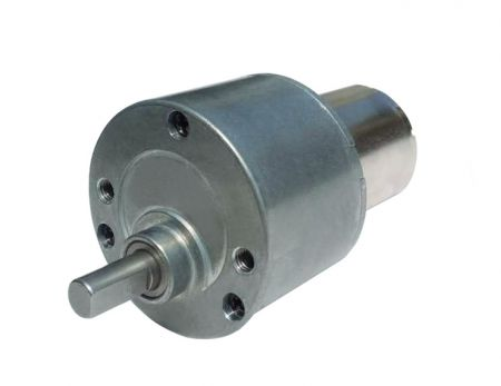 Low Noise DC Geared Motor 6V - 24V with GearBox 34.5mm OD