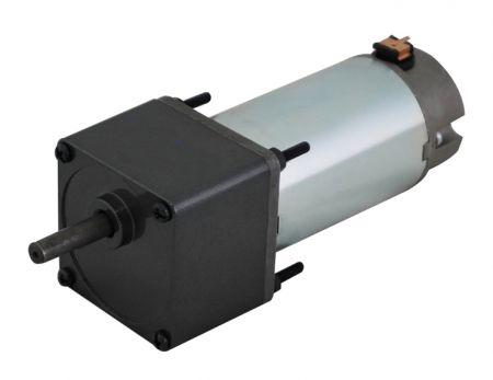 Low RPM 12V - 24V DC Geared Motor Contained with 60mm Large Spur Gearbox Type - Stable dc motor stall torque gear reducer in spur gear or bevel type by HSINEN producing and supply.
