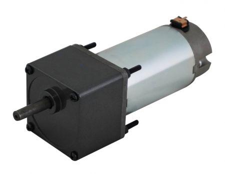 Bajo RPM 12V - Motorreductor de 24V DC incluido con el tipo de caja de cambios de espuela grande de 60 mm - Reductor de engranaje de par de parada de motor de CC estable en engranaje recto o tipo cónico por producción y suministro de HSINEN.