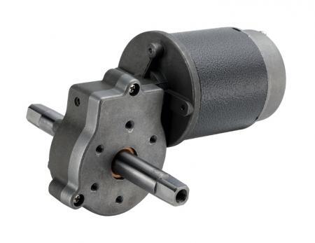 订制蜗杆蜗轮齿轮箱外径71mm 搭配3V - 110V 直流     电机 71mm 规格