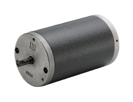 直径 77mmミディアムサイズブラッシュド6V-220VDCモーター、高RPM