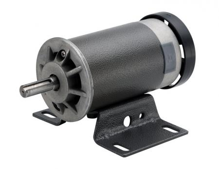 DC 90V ~ 220V Treadmill Motor in Φ 83mm with 1 - 3 HP Large Torque - Heavy duty big size 110v DC motors 3000w certified series by ROHS, CE for fitness equipment.
