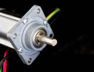 外径48mm行星式齿轮箱中心轴减速电机系列 - 6V-24V 精密行星减速 电机搭配外径48mm 台湾工厂生产制造。