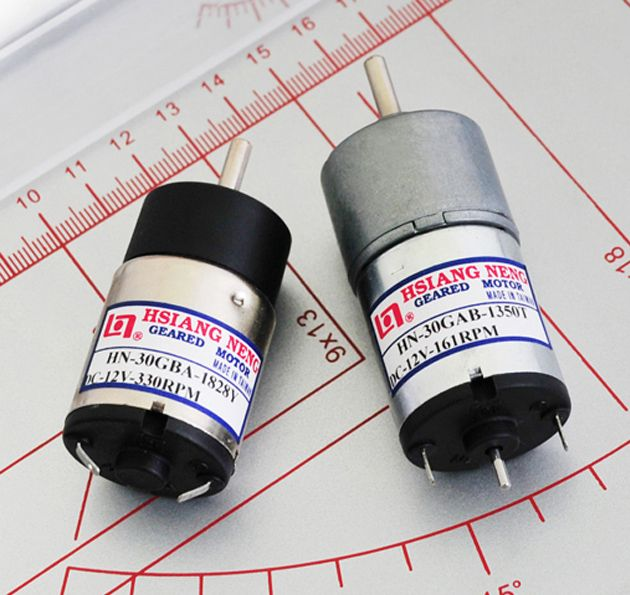 Dia. 22mm DC Geared Motor