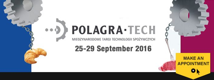 2016 POLAGRA-TECH Internationale Fachmesse für Lebensmittelverarbeitungstechnologien in Polen