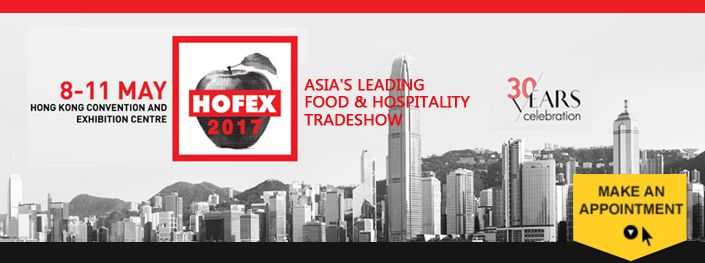 HOFEX Messe 2017 i Hong Kong