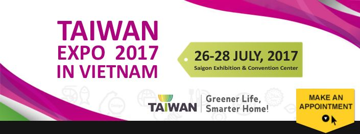 Taiwan Expo 2017 in Vietnam