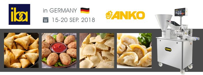 Fiera IBA 2018 in Germania