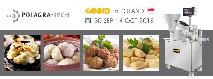 2018 POLAGRA-TECH Nemzetközi élelmiszeripari feldolgozóipari kiállítás Lengyelországban