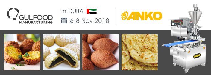 2018 GULFOOD nos Emirados Árabes Unidos