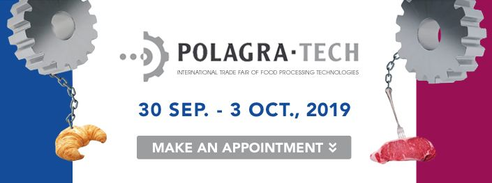 2019 POLAGRA-TECH Salon international des technologies de transformation des aliments en Pologne