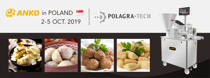 2019 POLAGRA-TECH International Trade Fair of food processing technologies in Poland