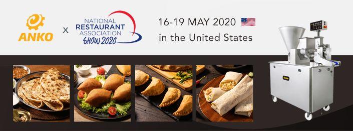 2020. aasta riikliku restoranide liidu näitus (NRA)