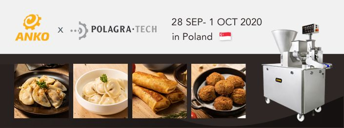 2020 POLAGRA-TECH International Trade Fair of food processing technologies in Poland