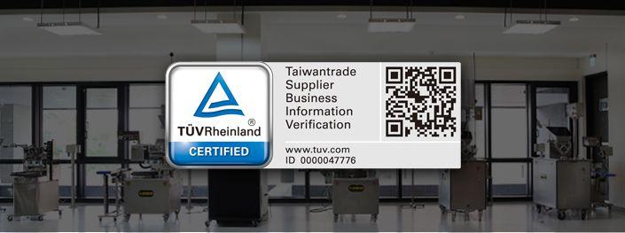 TÜV bersertifikat