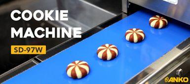 How to use ANKO's food machine to make Cookie