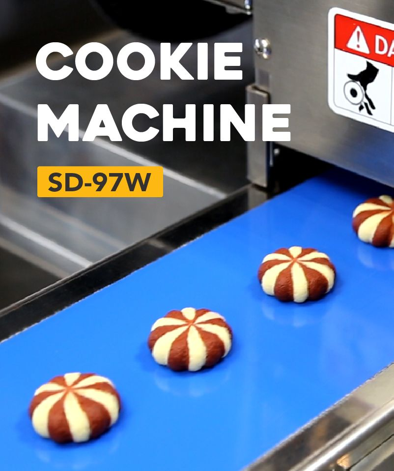 How to make Cookie by ANKO's food machine
