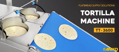 How to use ANKO's food machine to make tortilla