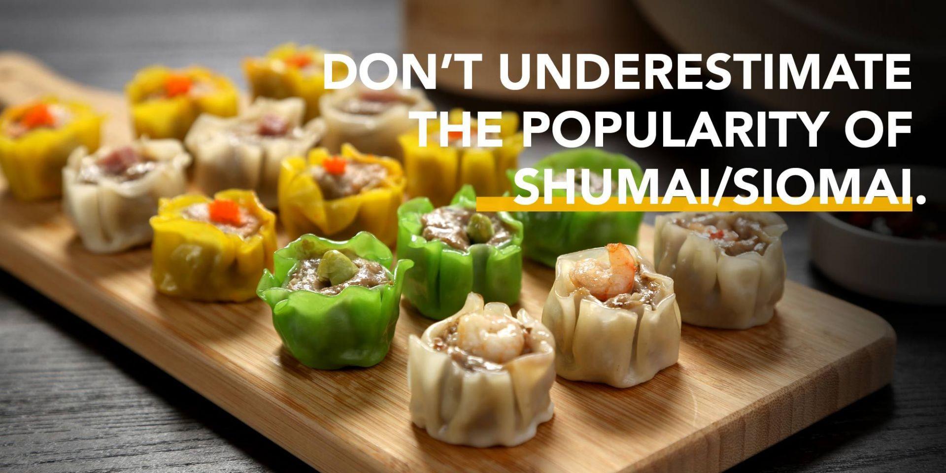【Tendințe în industria alimentară】 Nu subestimați popularitatea shumai / siomai.
