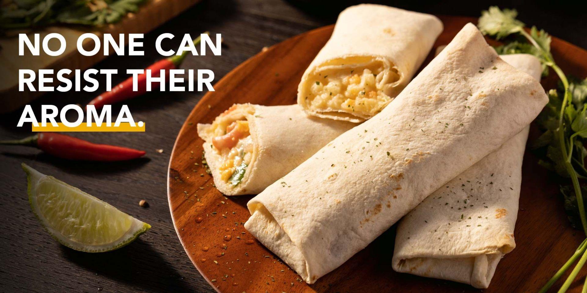 【Trend Industri Makanan】 Roti rata sangat digemari oleh pasaran pengambilan dan penghantaran makanan.