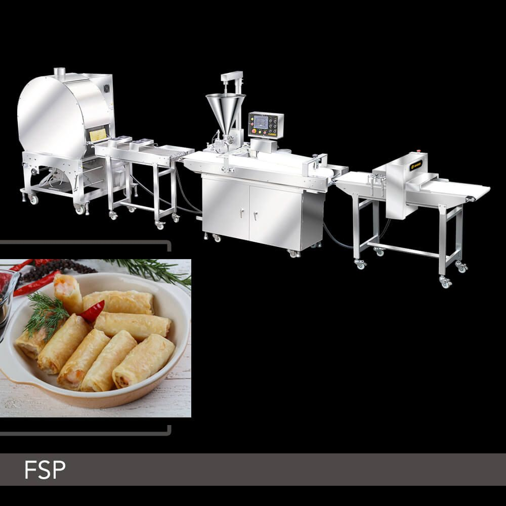 ANKO Finger Spring Roll Production Line - High Quality
