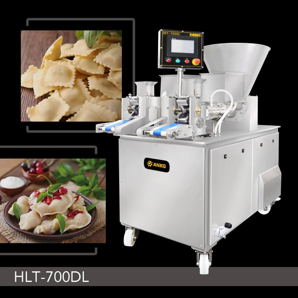 Double-Line Multipurpose Filling & Forming Machine - HLT-700DL. ANKO Double-Line Multipurpose Filling & Forming Machine